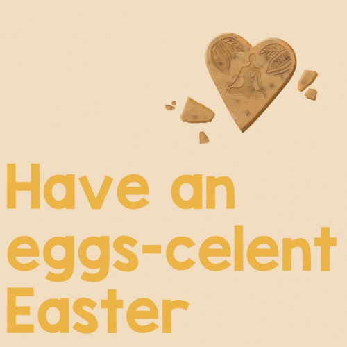 Have an eggs-celent Easter! Of course without eggs and completely vegan with our delicious Little Love chocolate. 💛🐥🌷⁠ ⁠ What are you doing for Easter? ⁠ ⁠ #happyeaster #easter #veganchocolate #littlelovechocolate #raw #organic #vegan #chocolate #plasticfree #directtrade #glutenfree #palmoilfree